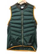 ()の古着「Aeroloft Vest」 グリーン
