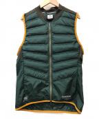 GYAKUSOU(ギャクソウ)の古着「Aeroloft Vest」|グリーン