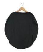 ()の古着「バルーンデザインカットソー」 ブラック