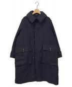 ()の古着「麦サテンのイヌイットコート」|ネイビー