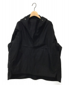 ()の古着「アノラックパーカー」 ブラック