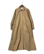 ()の古着「ボリュームスリーブバルマカーンコート」|ベージュ