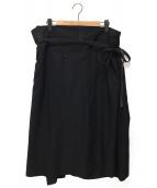 ()の古着「ラップパンツ」|ブラック