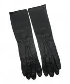 MIU MIU(ミュウミュウ)の古着「手袋 / ロングレザーグローブ」|ブラック