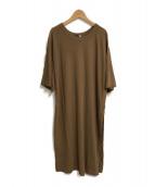 ()の古着「FRESCA LONG SLIT Tシャツ」|ブラウン