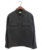 LEMAIRE(ルメール)の古着「コットンシャツ」 グレー