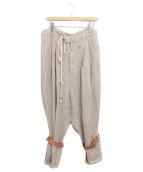 ()の古着「Cargo trousers」 ベージュ