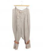 BED J.W. FORD(ベッドフォード)の古着「Cargo trousers」|ベージュ