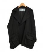 Dulcamara(ドゥルカマラ)の古着「よそいきWモッズショートCT」 ブラック