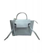 ()の古着「マイクロベルトバッグ」|ブルーグレー