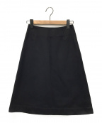 CELINE(セリーヌ)の古着「セミタイトスカート」 ブラック