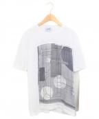 HERMES(エルメス)の古着「切替Tシャツ」|ホワイト