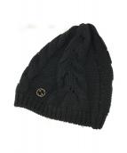 ()の古着「ニット帽」|ブラック
