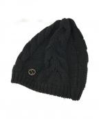 GUCCI(グッチ)の古着「ニット帽」 ブラック