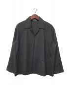 ()の古着「WOOL SILK TROPICAL SHIRTS JACK」|グレー