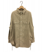 ()の古着「Chambrayシャツ」 ベージュ