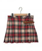 DOLCE & GABBANA(ドルチェ&ガッバーナ)の古着「タータンチェックラップスカート」