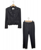 ()の古着「パンツスーツ」 ブラック