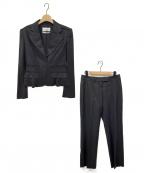 Yves Saint Laurent(イヴサンローラン)の古着「パンツスーツ」 ブラック