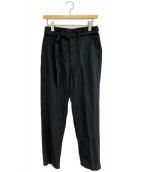()の古着「21SS Belted Work Trousers」 ブラック