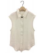 ()の古着「スリーブレスメッシュシャツ」 キナリ
