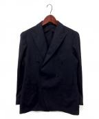 TAGLIATORE(タリアトーレ)の古着「ダブルテーラードジャケット」 ネイビー