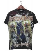()の古着「ワールドツアーTシャツ」|ブラック