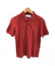 Yves Saint Laurent (イヴサンローラン) ポロシャツ レッド サイズ:xs