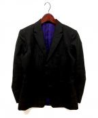 ISSEY MIYAKE MEN(イッセイミヤケメン)の古着「2Bジャケット」 ブラック