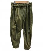 TROVE(トローブ)の古着「SPOT MOOLI WIDE PANTS」|カーキ