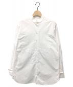 ()の古着「スタンドカラーシャツ」|オプティカルホワイト