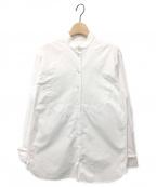 Chloe(クロエ)の古着「スタンドカラーシャツ」 オプティカルホワイト