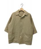 ()の古着「SILK COTTON SALT SHRUNK PIQUE 」|ベージュ