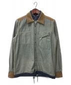 ()の古着「インサイドアウトデニムシャツ」|インディゴ