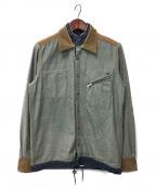 sacai(サカイ)の古着「インサイドアウトデニムシャツ」|インディゴ