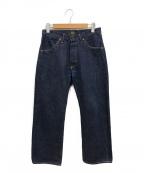 PHIGVEL MAKERS(フィグベルマーカーズ)の古着「CLASSIC WIDE JEANS」|インディゴ