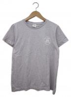 A.P.C.()の古着「フラッグロゴメランジコットンクルーネックTシャツ」|ダスティーパープル