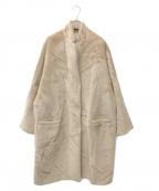BRUNELLO CUCINELLI(ブルネロクチネリ)の古着「アルパカオーバーサイズコート」 キャメル
