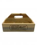 stussy(ステューシー)の古着「GS Tool Box」|ブラウン