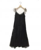 HER LIP TO(ハーリップトゥ)の古着「キャミソールワンピース」|ブラック