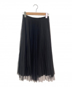 LOYD/FORD(ロイドフォード)の古着「プリーツスカート」 ブラック
