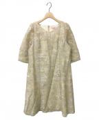 TOCCA(トッカ)の古着「PRIMURA GARDEN MINI DRESS」|ベージュ