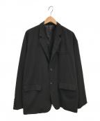 flagstuff(フラグスタフ)の古着「Single breasted Suit JKT」|ブラック