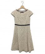 TOCCA(トッカ)の古着「CARAMELLA DRESS」|ベージュ