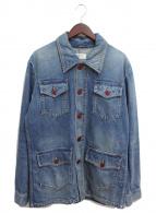 ()の古着「20SS サファリデニムジャケット」 インディゴ