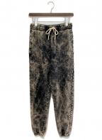 CELINE(セリーヌ)の古着「21SS スウェットジョギングパンツ」|ブラック