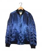 ETRO(エトロ)の古着「スタジャン」|ブルー