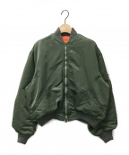 FUMIKA UCHIDA(フミカウチダ)の古着「L2-Bジャケット」 オリーブ