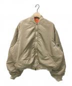 FUMIKA UCHIDA(フミカウチダ)の古着「L2-Bジャケット」 ベージュ