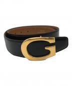 GUCCI(グッチ)の古着「Gバックルベルト」|ブラック